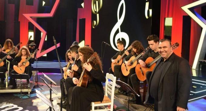 Το Appolon Guitar Ensemble, ερμηνεύει έργα Ηλία Ανδριόπουλου, στο Saint Paul