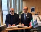 Π. Κουρουμπλής σε πρόεδρο της Βουλής της Βόρειας Ρηνανίας – Βεστφαλίας, André Kuper: «Δεν έχει κλείσει το θέμα των γερμανικών αποζημιώσεων»
