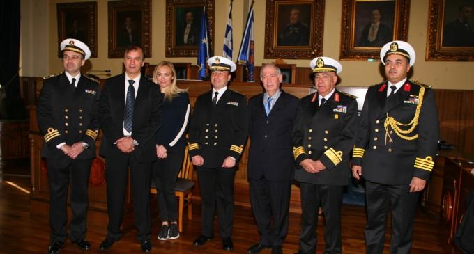 Συνάντηση Προέδρου Δημοτικού Συμβουλίου Γ.Δαβάκη με Αντιπροσωπεία του εκπαιδευτικού πλοίου της Αιγύπτου «SHALATIN»