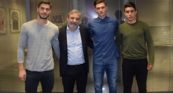 Ολυμπιακός: Επαγγελματικό συμβόλαιο στον γιο του Νικοπολίδη