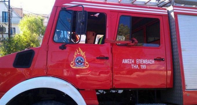 Αθήνα: Φωτιά τώρα σε κτίριο