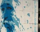 Γκράφιτι στη μνήμη του Τζίμη Πανούση στο κέντρο της Αθήνας