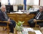 Συνάντηση Προέδρου ΠΕΔΑ και δημάρχου Πεντέλης (βιντεο)