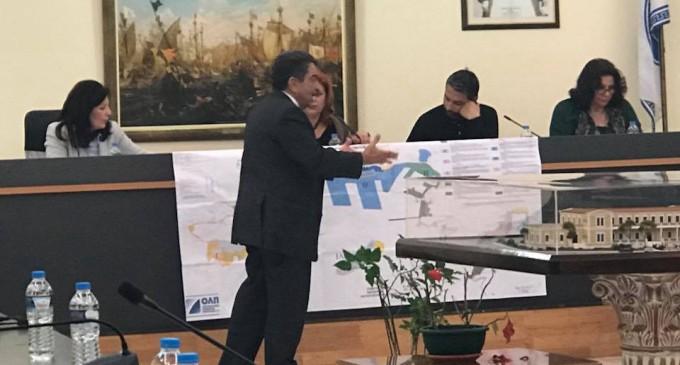 Συνεδρίαση Δημοτικού Συμβουλίου Σαλαμίνας για το Master Plan της ΟΛΠ Α.Ε.