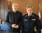 Συνάντηση Δημάρχου Πειραιά Γ.Μώραλη με τον νέο Διευθυντή Αστυνομίας και τον νέο Διοικητή των πυροσβεστικών Υπηρεσιών