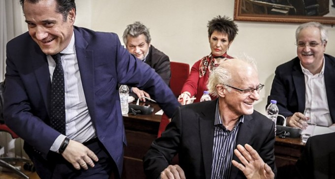 Άγριος καβγάς: «Διορίστηκες στην ΕΡΤ με φαξ» είπε ο Άδωνις στην Καββαδία