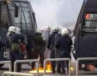 Επεισόδια με μολότοφ στο λιμάνι του Πειραιά με οπαδούς του Ολυμπιακού και της ΑΕΚ
