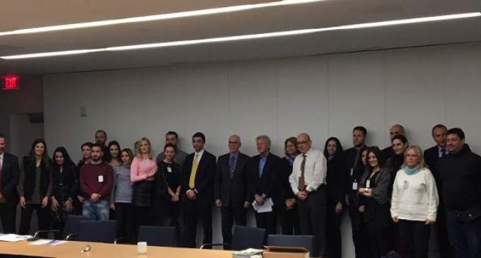 Φοιτητές του πανεπιστήμιου Πειραιά στο ΔΝΤ! Συναντήθηκαν με τον Τζέρι Ράις