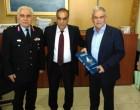 Επίσκεψη του Υπουργού Προστασίας του Πολίτη Ν. Τόσκα στο Δημαρχείο του Περάματος