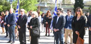 Επιμνημόσυνη δέηση εψάλη στο μνημείο του Γ.Καραϊσκάκη για την εθνική επέτειο της 25ης Μαρτίου 1821