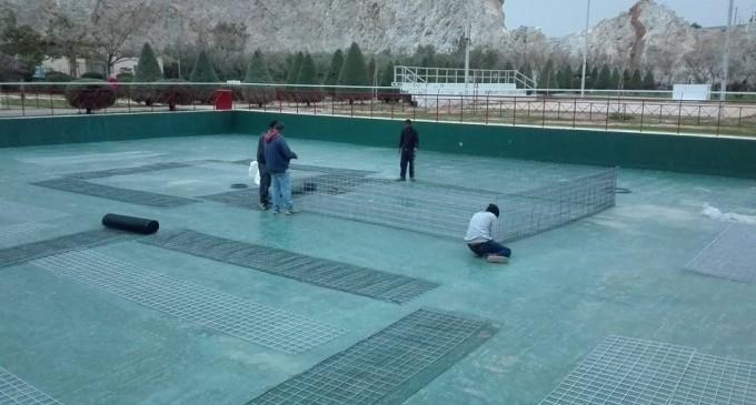Κατασκευάζεται η τεχνητή λίμνη στο πάρκο Σελεπίτσαρι