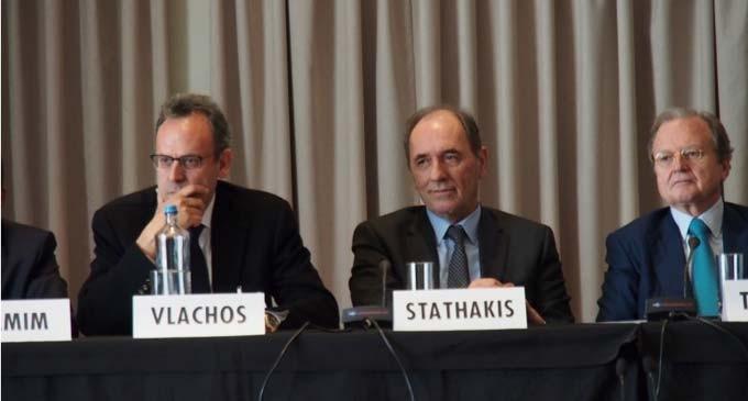 Για το ρόλο της ναυτιλίας στην κλιματική αλλαγή μίλησε ο Γ. Σταθάκης