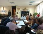 Ευρεία σύσκεψη στο Γραφείο του Αντιπεριφερειάρχη για το έργο του δικτύου ακαθάρτων Σαλαμίνας
