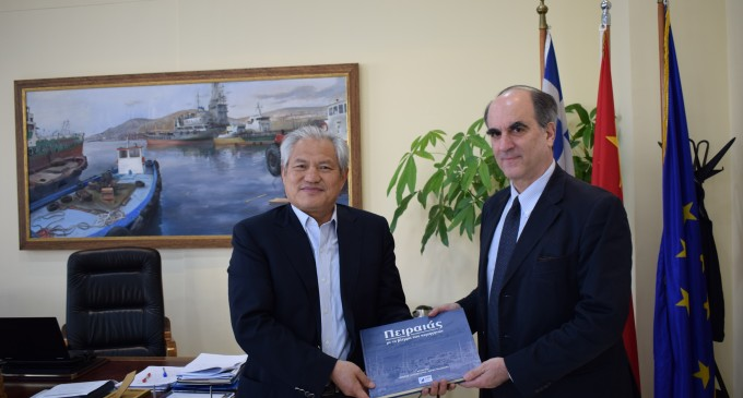 Αντιπροσωπεία της Β5 Διεύθυνσης του Υπουργείου Εξωτερικών επισκέφτηκε τα κεντρικά γραφεία της ΟΛΠ Α.Ε.