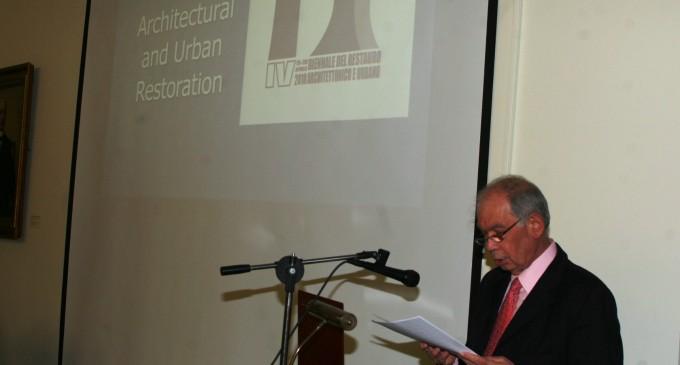 Ο Πρόεδρος του Δημοτικού Συμβουλίου Πειραιά  Γ. Δαβάκης στο Διεθνές Συνέδριο για την ανάδειξη της κρυμμένης αρχιτεκτονικής πολιτιστικής κληρονομιάς στην ξηρά και στη θάλασσα