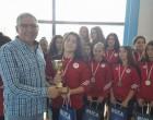 Ολυμπιακός: Με την 2η θέση επέστρεψαν οι Νεάνιδες στο πόλο