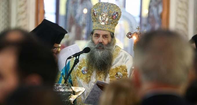 Μητροπολίτης Πειραιώς: Αυτή η συμφωνία είναι μία μεθόδευση για την περιθωριοποίηση της Εκκλησίας