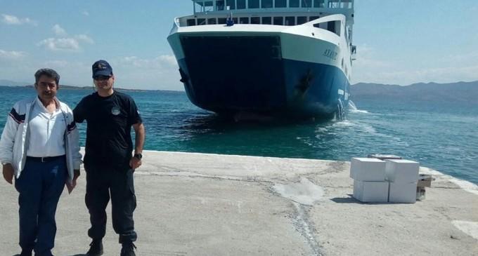 Το Αγκίστρι επισκέφθηκε ο Αντιπεριφερειάρχης Νήσων Παναγιώτης Χατζηπέρος
