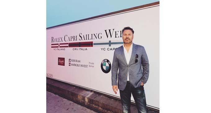 O Αλέξης Αγγελόπουλος στο Rolex Capri Sailing Week