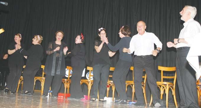 Θεατρική παράσταση για τα ΚΑΠΗ