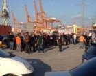 Έτσι δόθηκε η μάχη της περιφρούρησης της απεργίας μπροστά στην πύλη της «COSCO»