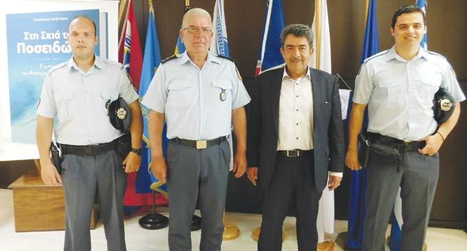 Συνάντηση Παναγιώτη Χατζηπέρου με Αστυνομικούς της γειτονιάς