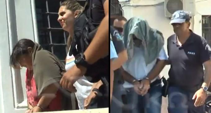 «Σταματούσαμε μόνο όταν έβαζαν τα κλάματα»: Απολογία σοκ των γονιών- βιαστών της Λέρου