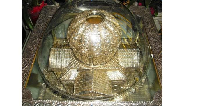 Η Τιμία Κάρα του Αγίου Αποστόλου Ανδρέου στον Ιερό Ναό Αγίων Κωνσταντίνου και Ελένης Πειραιώς