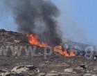 Φωτιά σε εξέλιξη στην Πάρο
