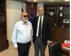 Συνάντηση Χριστόφορου Μπουτσικάκη με τον  Υπουργό  Ναυτιλίας  &  Νησιωτικής  Πολιτικής  Παναγιώτη Κουρουμπλή
