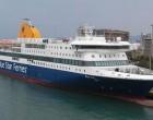 Το Blue Star Patmos στην θέση του Nissos Chios από 11 Σεπτεμβρίου (μέσα τα λιμάνια Αγίου Κηρύκου και Φούρνων μέχρι 30/09)
