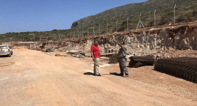 Επίσκεψη του Αντιπεριφερειάρχη νήσων στα Κύθηρα