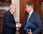 « Εποικοδομητική συνάντηση Προέδρου Ε.Β.Ε.Π., κ. Β. Κορκίδη,  με τον νέο Υπουργό Ναυτιλίας και Νησιωτικής Πολιτικής, κ. Φ. Κουβέλη »
