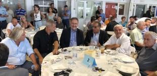 Στην έναρξη  νέας αλιευτικής περιόδου από τον  Οργανισμό Κεντρικών Αγορών & Αλιείας στην Ιχθυόσκαλα Κερατσινίου παραβρέθηκε ο Δήμαρχος Πειραιά Γιάννης Μώραλης
