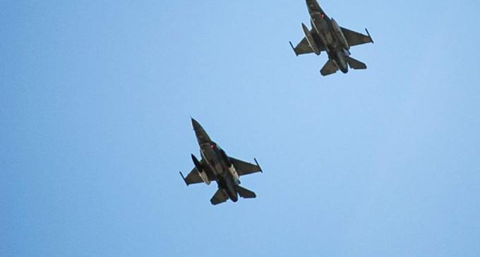 Υπερπτήση δύο τουρκικών μαχητικών πάνω από την Παναγιά των Οινουσσών
