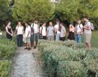Επίσκεψη Γάλλων μαθητών στο Πάρκο Φλοίσβου