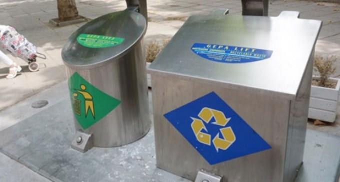 Πρόστιμα σε καταστηματάρχες για μη χρήση των νέων υπόγειων κάδων