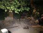 Κτίριο κατέρρευσε στον Πειραιά -Δεν βρέθηκαν εγκλωβισμένοι