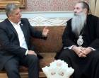 Συνάντηση Πατούλη με τον Μητροπολίτη Πειραιώς Σεραφείμ