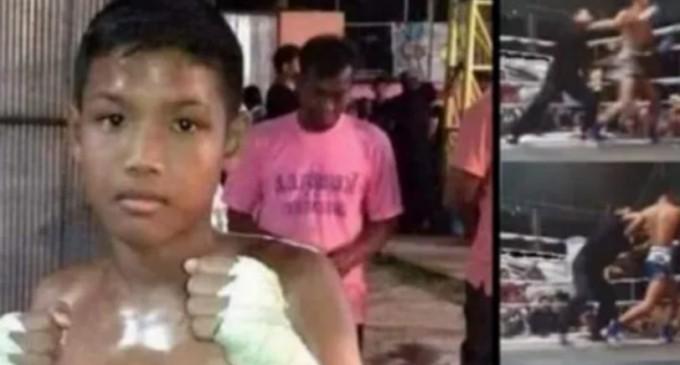 Νεκρός 13χρονος Ταϊλανδός πυγμάχος από εγκεφαλική αιμορραγία