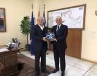 Εθιμοτυπική επίσκεψη του κ. Δ. Κοπελούζου στα κεντρικά γραφεία του ΟΛΠ