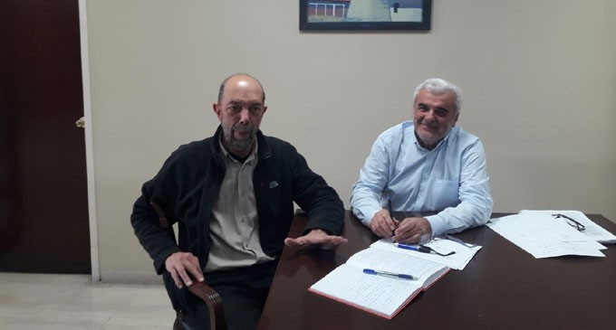 Συνάντηση του Αντιπεριφερειάρχη Πειραιά Γ. Γαβρίλη με τον υποψήφιο Δήμαρχο Πειραιά Νίκο Μπελαβίλα