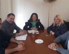 Γεωργία Γεννιά: Συνάντηση με την Υφυπουργό Αγροτικής Ανάπτυξης Ολυμπία Τελιγιορίδου