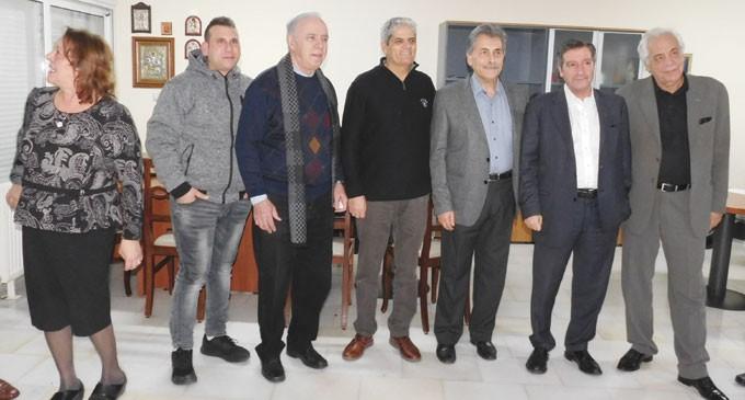 Γιορτή Στέφανου Χρήστου με πολλές ευχές για την υποψηφιότητά του