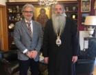 Το Σεβασμιώτατο Μητροπολίτη κ.κ. Σεραφείμ επισκέφθηκε ο Νίκο Βλαχάκος