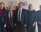 Ο νέος Πρέσβης της Ουκρανίας στα γραφεία του Ελληνο-Ουκρανικού Επιμελητηρίου