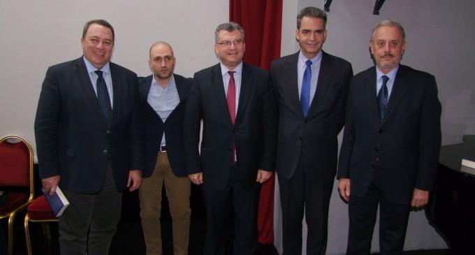 """Χάρης Τσιλιώτης -Πολιτευτής Β"""" Πειραιώς: Εξαιρετική εκδήλωση με θέμα τις εξελίξεις στα εθνικά θέματα"""