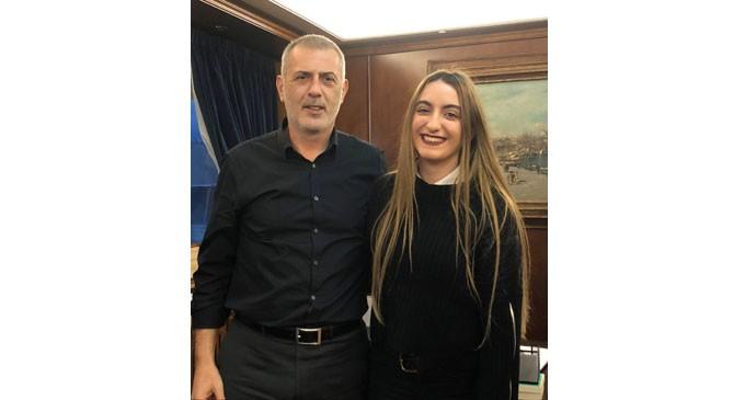 Με τον συνδυασμό «Πειραιάς Νικητής» κατεβαίνει ως υποψήφια Δημοτική Σύμβουλος η Ίρις- Σταυρούλα Ιορδανίδου