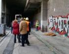Ξεκίνησαν οι τεχνικές παρεμβάσεις στην γέφυρα της Γρηγορίου Λαμπράκη (ΑΠΟΚΛΕΙΣΤΙΚΕΣ ΦΩΤΟΓΡΑΦΙΕΣ)