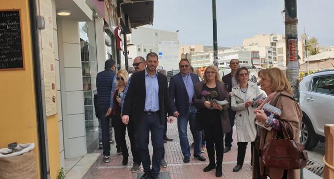 Νίκος Χουρσαλάς -Υποψήφιος Δήμαρχος Κορυδαλλού -Επικοινωνία με τον εμπορικό κόσμο της πόλης